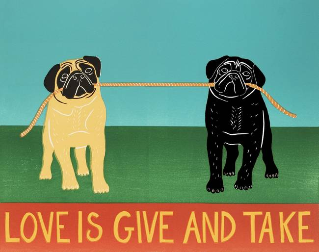give and take relationship tumblr drawings