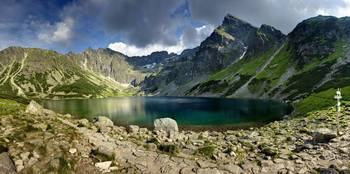 Mountain Lake, Poland