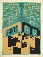 Santa Fe, New Mexico: The City Different - Retro T