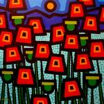 """Poppy Field"" by artlicensing"