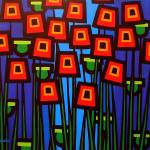 """Night Poppies"" by artlicensing"