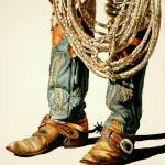 """Boots And Rawhide Rope I"" by artlicensing"