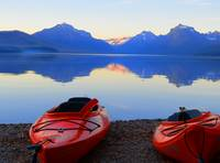 Lake McDonald Sunset - Glacier National Park