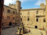 Courtyard of Linlithgow Castle