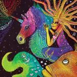 """Ride The Rainbow"" by ArtPrints"