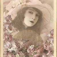 Beautiful Vintage Lady Art Prints & Posters by Nina Bradica