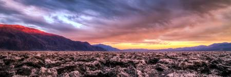 Colorful Death Valley