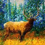 """""Alaskan Elk"" Original Painting"" by meganduncanson"