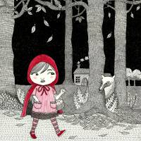 Little Red Riding Hood Art Prints & Posters by Emila Yusof