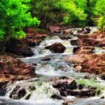 """""""Summer Waterfall"""" by LJdesigns"""