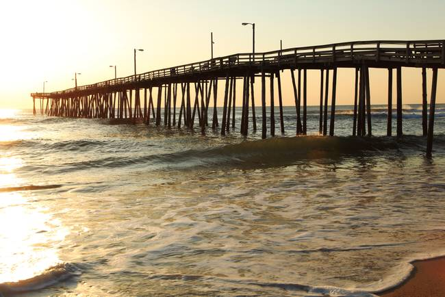 Stunning surf fishing artwork for sale on fine art prints for Nags head fishing pier