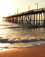 Fishing Pier at Sunrise, Nags Head North Carolina