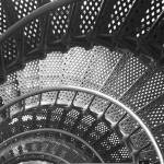 """Spiraling Stairs Architectural Abstract"" by RoupenBaker"