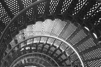 Spiraling Stairs Architectural Abstract