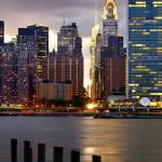 """manhattan skyline, Chrysler building, New York"" by emporoslight"