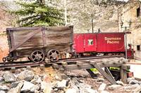 Mining Cart and Railroad Car