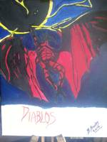diablos on canvas