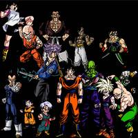dbz collage
