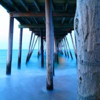 Avalon Pier Art Prints & Posters by Cara Walton