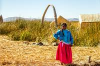 Girl, Uros Islands