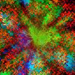 """Color Explosion Abstract"" by Groecar"