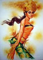 Beautiful Balinese Dancer