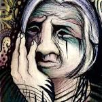 """Trippy Old Lady"" by jenndelfs"