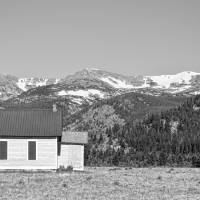 Rocky Mountain School House Panorama Art Prints & Posters by James