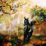 """Horse Art Running Free"" by GinetteCallaway"