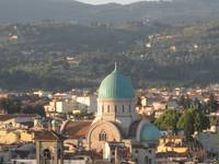 The Great Jewish Synagogue in Florence Italy