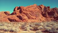 Valley of Fire, Nevada, Sunset