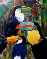 024-Three Toucans