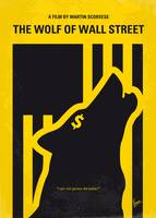 No338 My wolf of wallstreet minimal movie poster