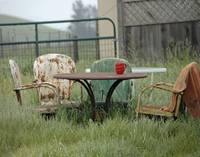 Table Chairs n Morning Coffee