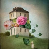 House of Flowers Art Prints & Posters by Catrin Welz-Stein