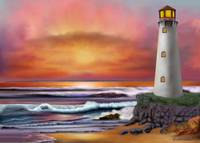 C:\fakepath\LIGHTHOUSE AT SUNSET