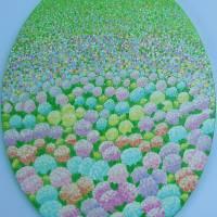 hydrangea3wbackground Art Prints & Posters by Alina Deutsch