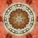 """""""Tangerine Mandala"""" by SeaAngel12"""