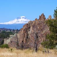 Summer at Smith Rock III Art Prints & Posters by R Lynley