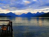 Lake McDonald - Waiting For The Sunset