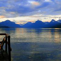 """Lake McDonald  Waiting For The Sunset"" by Photography Moments"