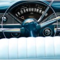1956 Chevy Convertible Art Prints & Posters by Steven Digman