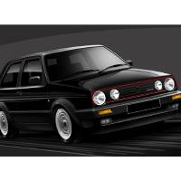 C:\fakepath\VW Golf GTI Art Prints & Posters by Russell Wallis
