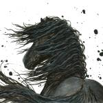 """Majestic Friesian Horse"" by AmyLynBihrle"