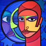 """Jose Miguel and his cosmic relation"" by JoseMiguelPerezHernandez"