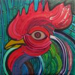 """Head of Rooster to Fabelo"" by JoseMiguelPerezHernandez"