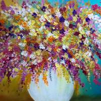 Bursting Blooms Art Prints & Posters by Peggy Garr