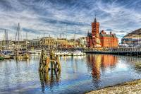 Cardiff Bay And The Pierhead Building