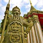 """""Warrior Guardian"" Wat Phra Kaew,Bangkok,Thailand"" by AlexandraZloto"