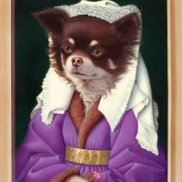 'Phoebe Van Eyck' - Chihuahua Art Prints & Posters by Tara Reed
